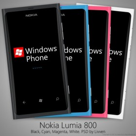 Nokia Nokia Lumia 800 PSD source files