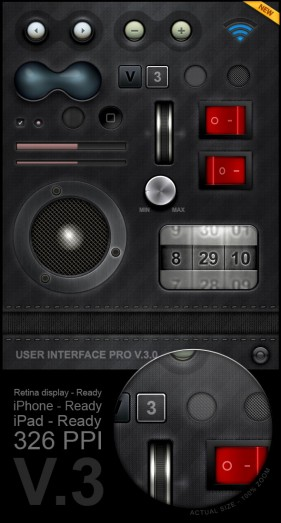 Player interface psd material  2