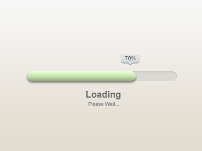 The dribbble Pro concise Loading