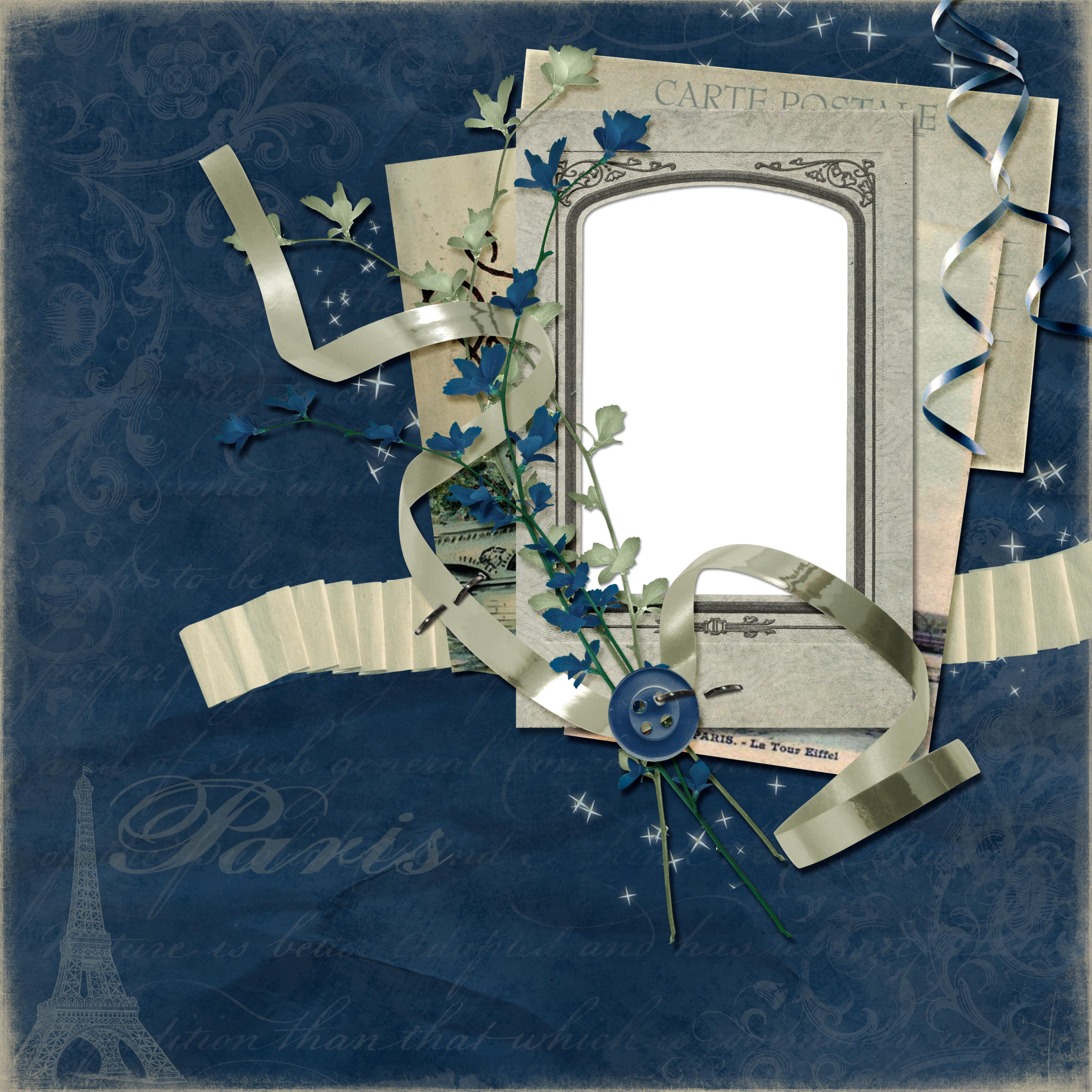 European and American collage style photo frame  1