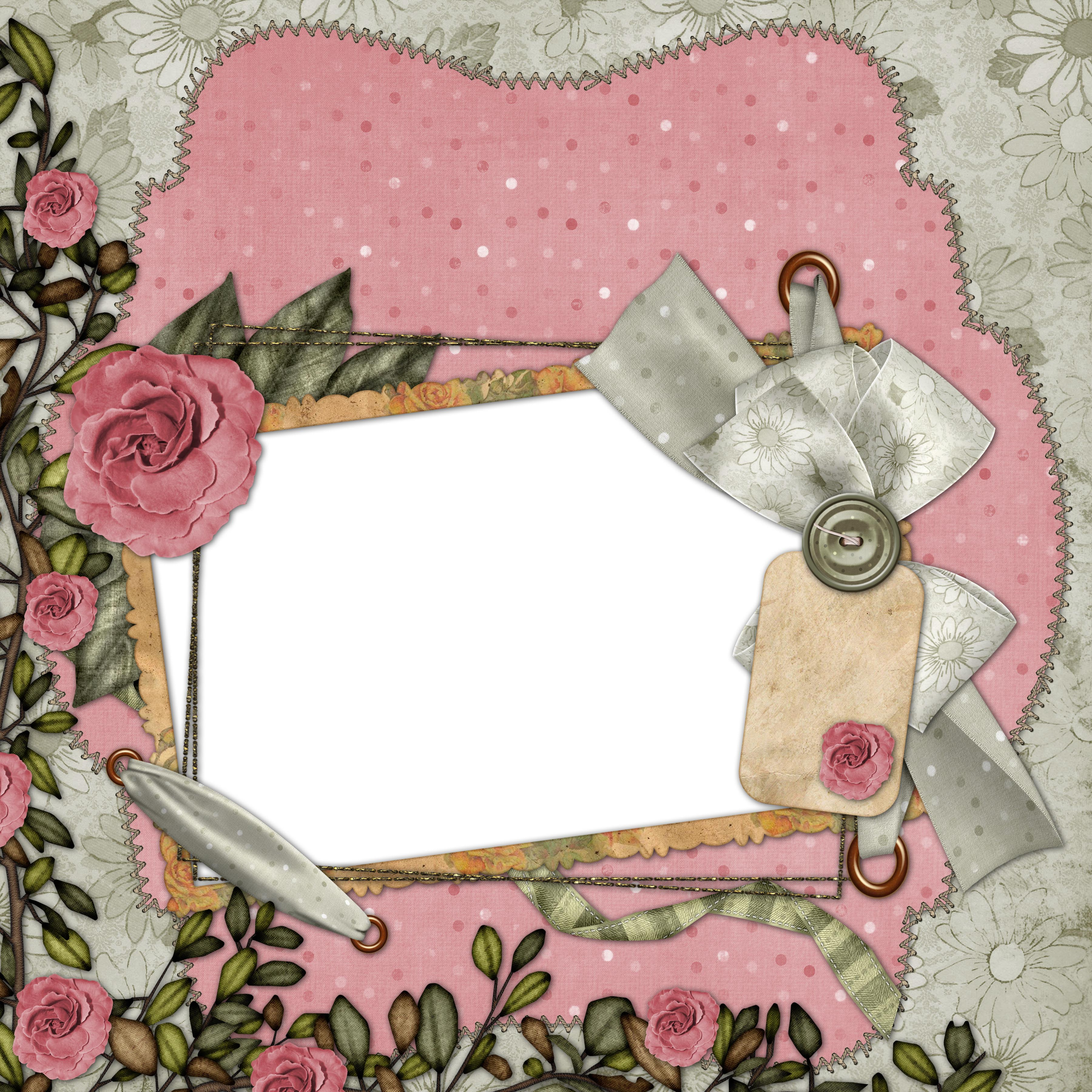 European and American collage style photo frame  5