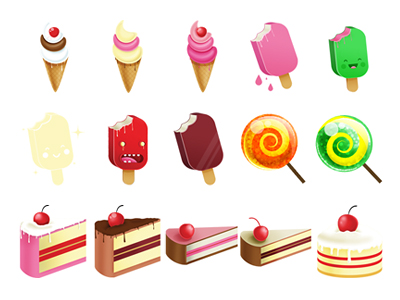 lovely desserts and candy Computer icon png