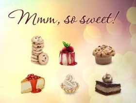 6 desserts icon (So Sweet)
