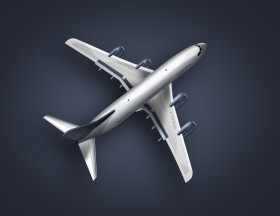 Airplanes   psd layered material