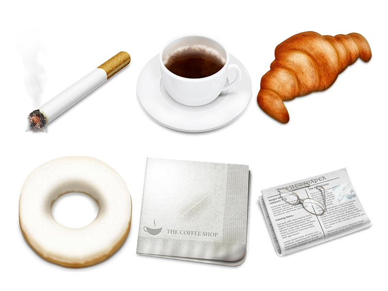 Cafe theme icon png