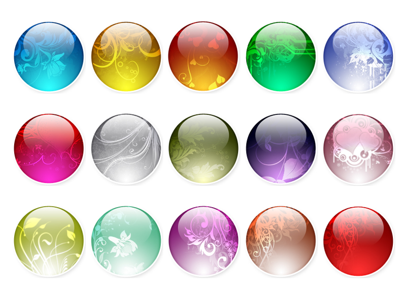 Dream pattern crystal ball icon png