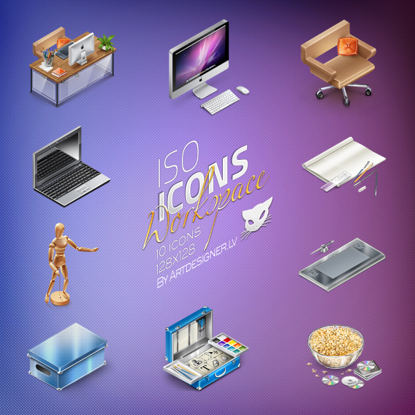 IsoIcons   Workspace