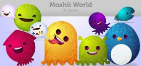 Moshii world icons