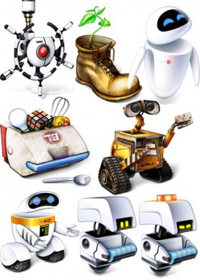 Robot Story icon (png, ico, icns)