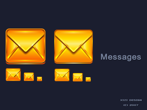 Set refined mail icon