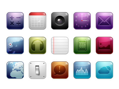 Special iphone cell phone inside the icon png