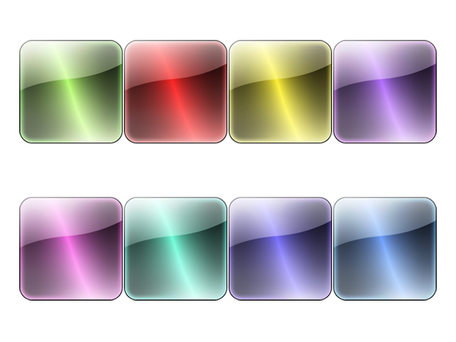 Symphony crystal texture button transparent png icon