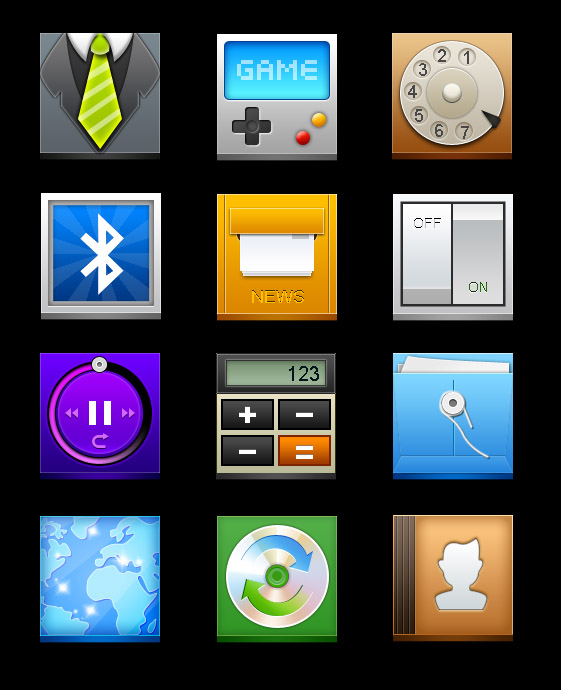 The copying station cool icon