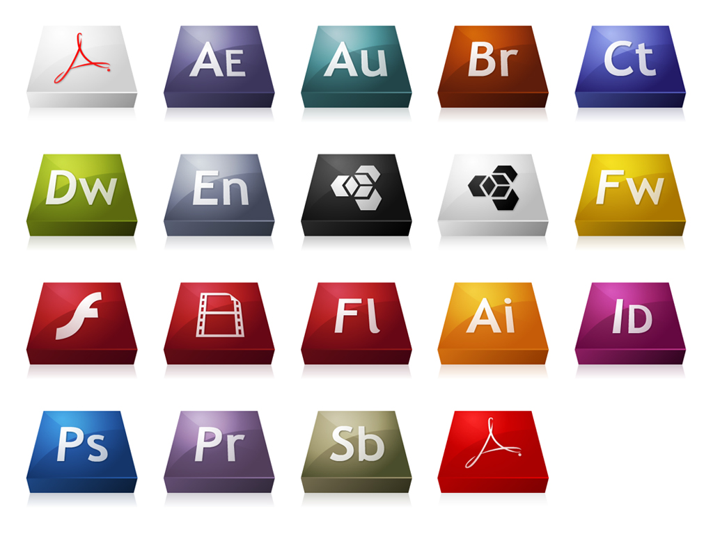 The stereo adobeCS3 series icon png