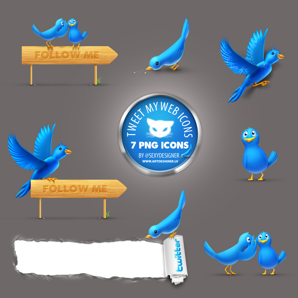 Twitte png icon