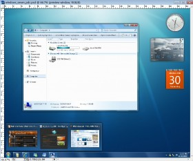 Windows7 PicsSD interface hierarchical file
