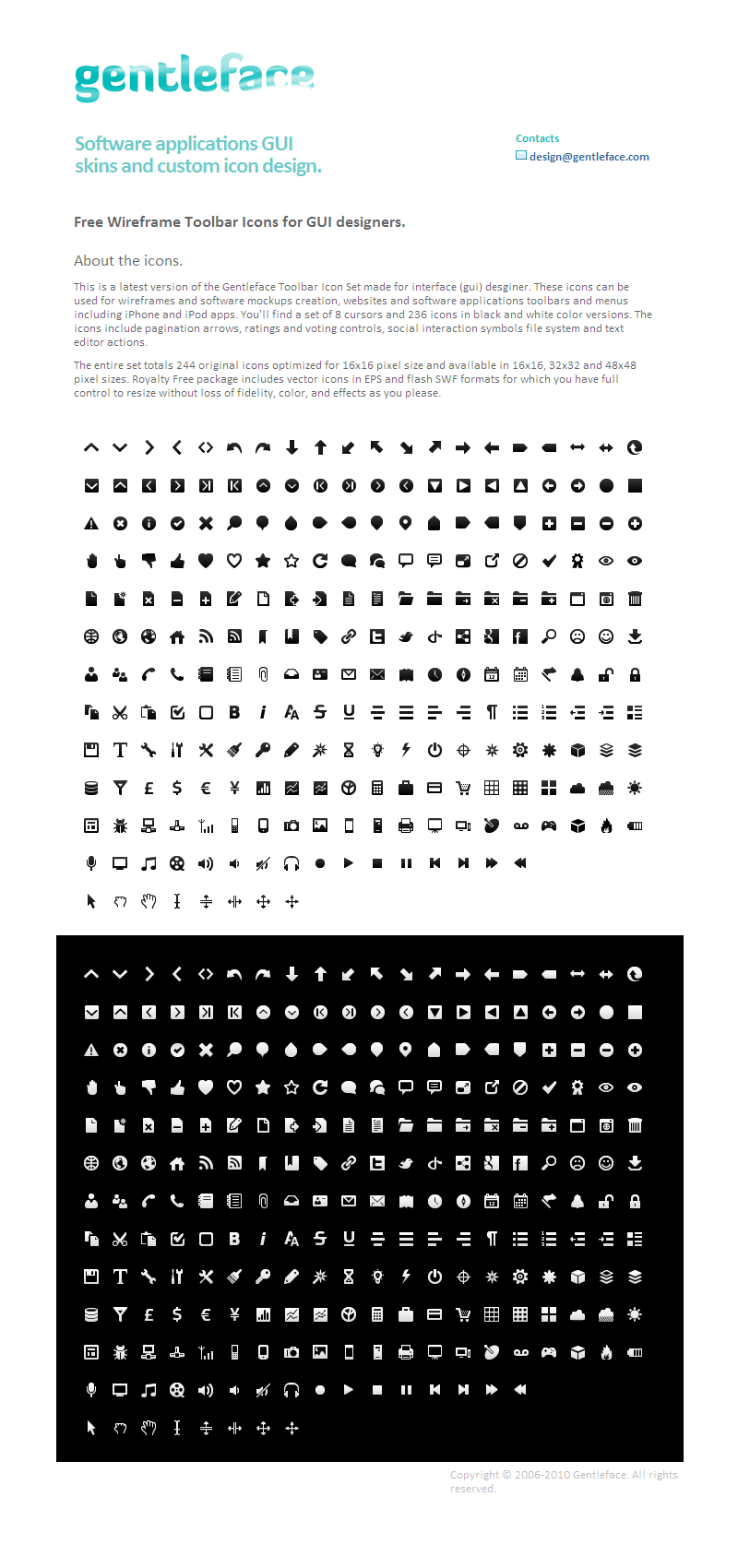 Wireframe mono black and white sets minimalist style icon, a total of 244