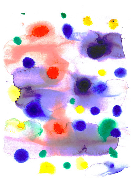 GoMedia produced watercolor ink picture material  020