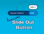 CSS3 made sliding button