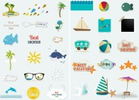 Summer element vector material