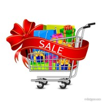 Fashion Shopping element vector material 03