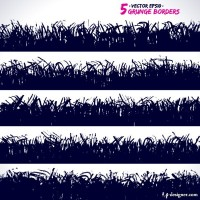 Brush marks background 05 vector material