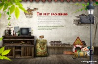 Has been shedding brick and articles PSD material download