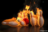 Burning Bowling HD pictures