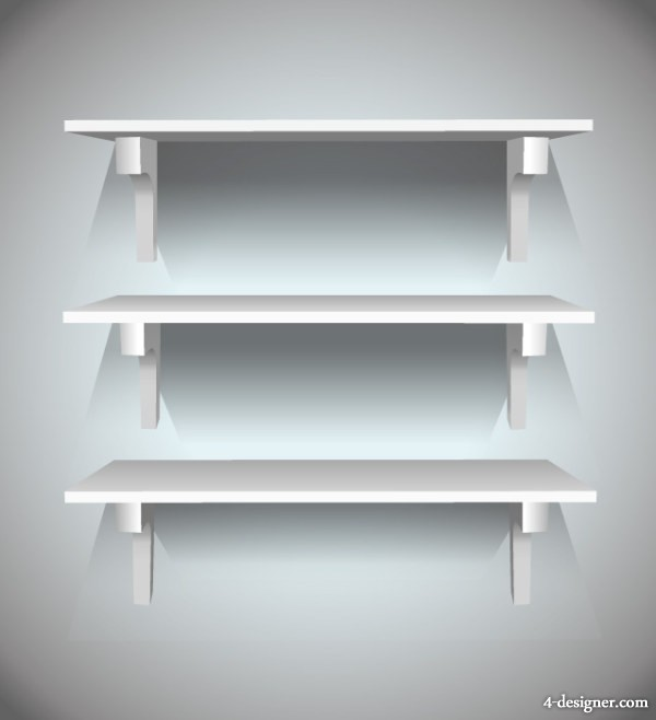 Small Exhibition Stand Vector : Designer display rack stand shelf vector material