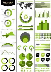 Infographics and chart design elements vector 03