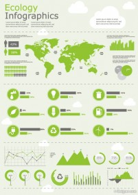 Infographics and chart design elements vector 04