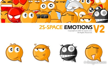 PNG emoticons