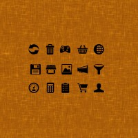 Web page useful icons PNG