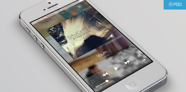 Transparent Music Player