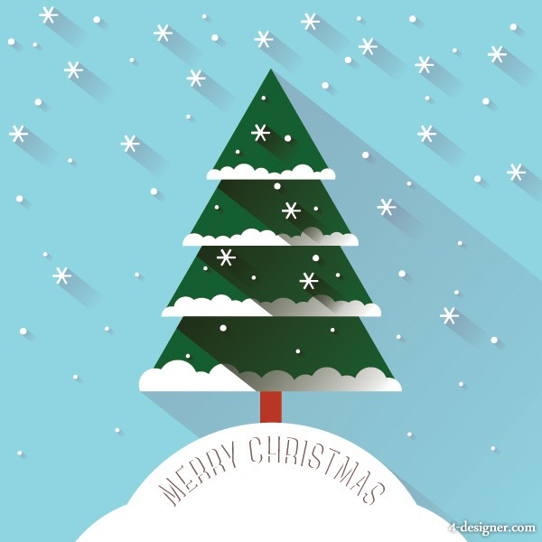 4 Designer Cartoon Christmas Tree Vector Material The best selection of royalty free tree snow cartoon vector art, graphics and stock illustrations. 4 designer