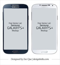 Samsung Samsung Galaxy S4 model Vector