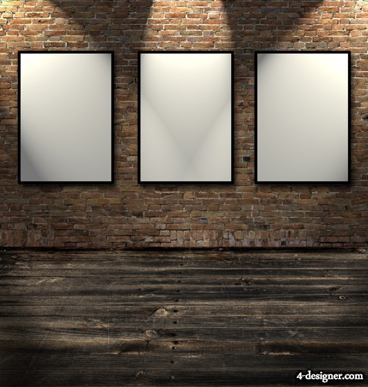 4-Designer | HD picture frame wall background