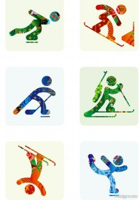Sochi 2014 project PNG Icons