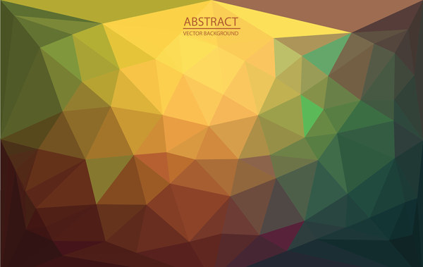4-Designer   Modern design abstract background of two triangles ...
