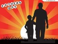 Both Happy Father s Day EPS vector material