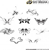 GO MEDIA 10 classic practical pattern vector material