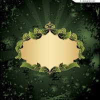 Leafy lace pattern vector material trend