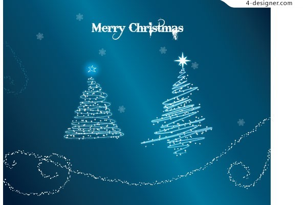 Merry Christmas vector material