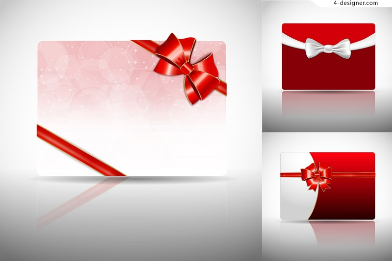 3 vector materials for designing bow card