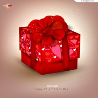 Exquisite Valentine gifts vector material