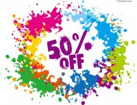 Vector material of brushing discount poster