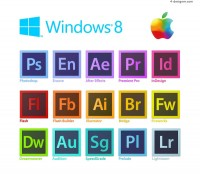 Adobe software icon vector material