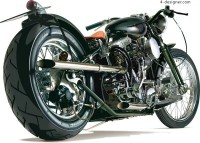 Both realistic cool motorcycle vector material