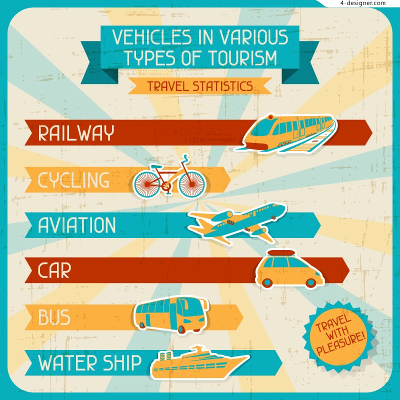 Cartoon vector material transport