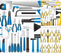 Exquisite tool set vector material
